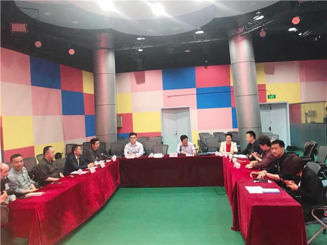 江苏科技馆馆长朱德祥、党支部书记汪立祥等班子成员及部门负责人参加座谈