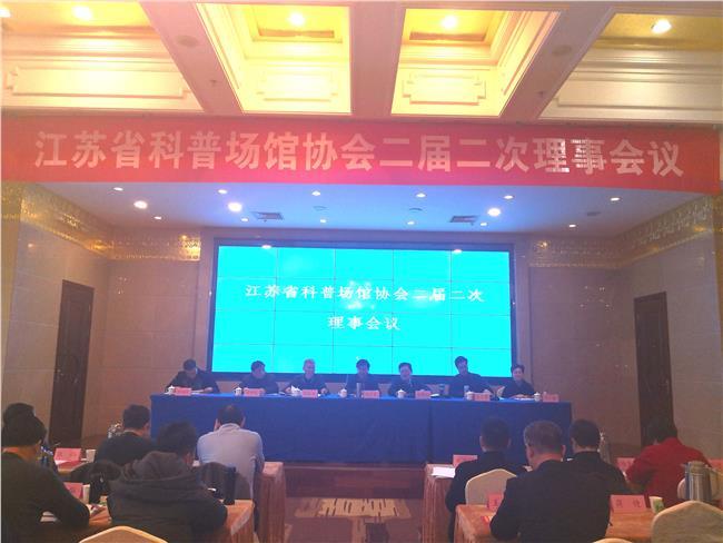江苏省科普场馆协会二届二次理事会议