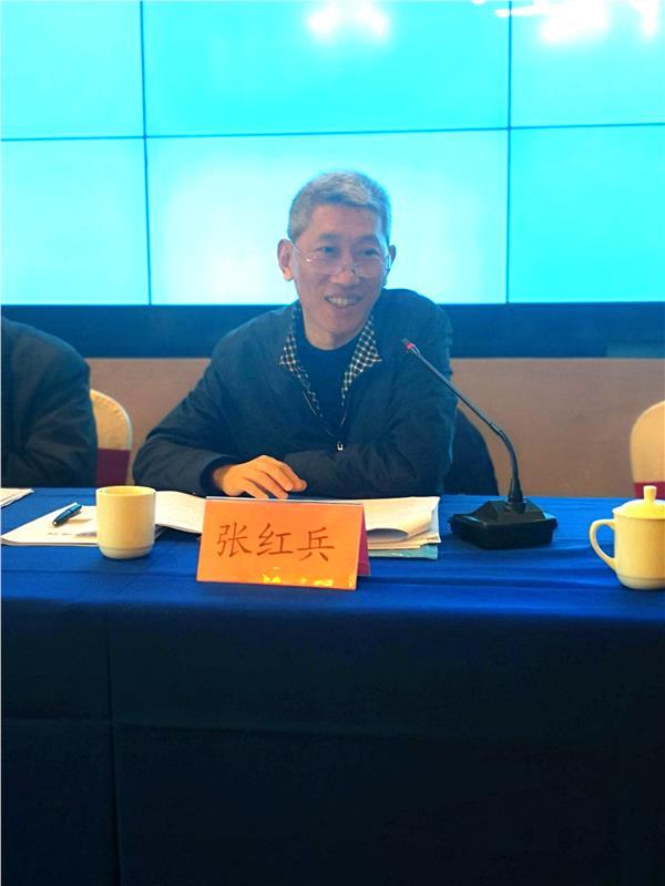 江苏省科协科普部部长张红兵与会并发言