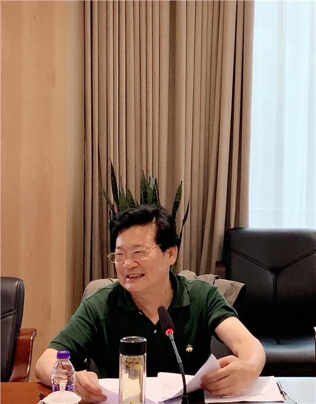 吴国彬理事长主持江苏省科普场馆协会二届五次常务理事会议