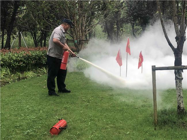 森林防火消防演练