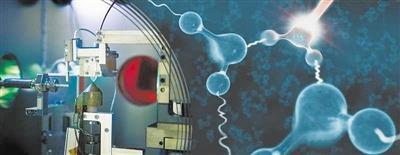 研究人员首次直接观察到处于激发态的液态水分子中的原子运动。